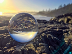 boule de verre - Être de lumière